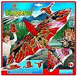 Unbekannt Paul Günther 1606 - Sinopterus Flugsaurier, Drachen und Flugspielzeug, grün/orange/rot/schwarz