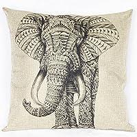 tukoh elefante africano Cuscino Cover 18