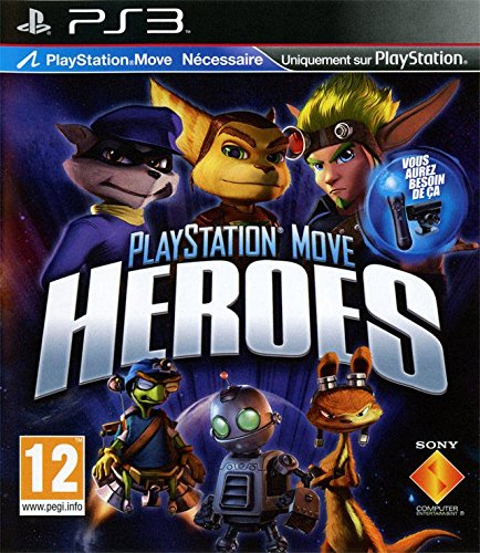 Sony PlayStation Move Heroes, PS3 - Juego (PS3)
