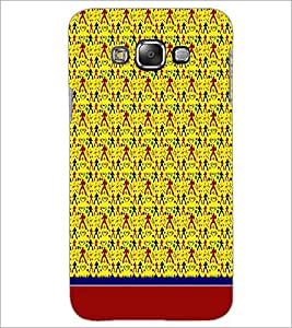PrintDhaba Pattern D-1907 Back Case Cover for SAMSUNG GALAXY A8 (Multi-Coloured)