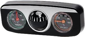 Holdream Auto Boot Fahrzeuge Navigation Kompass Thermometer Hygrometer Auto Innen Zubehör Dekor Auto