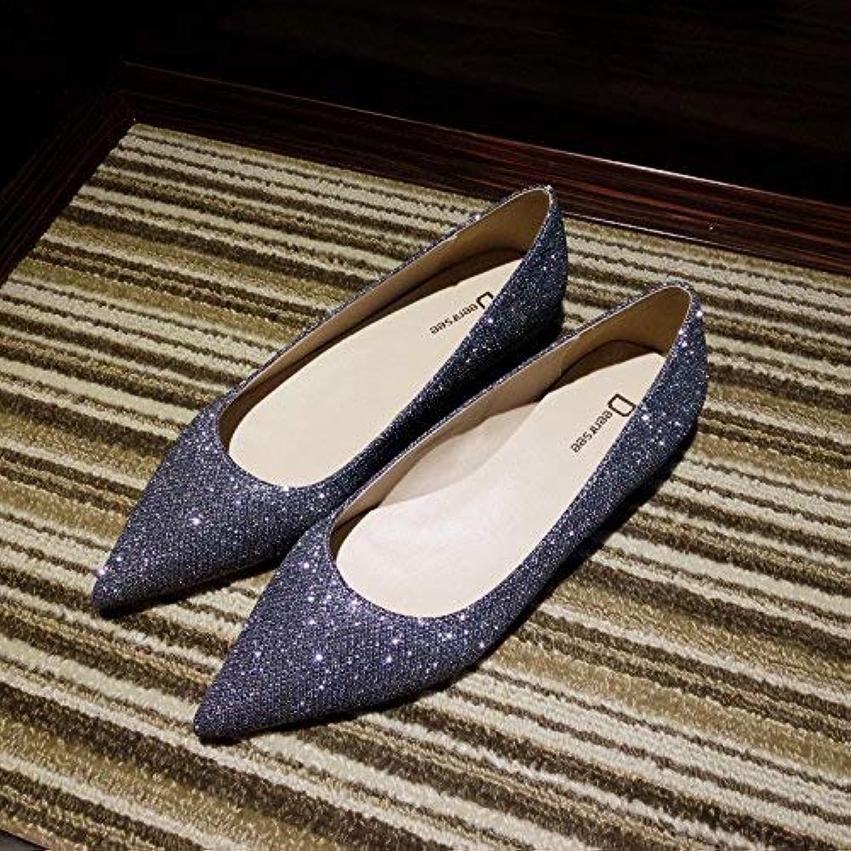 Eeayyygch Escarpins Gris Pointus avec Talons Hauts Femme Bien avec Pointus la Bouche Peu Profonde Chaussures Sauvages Chaussures...B07K8FY7JLParent 4f303c