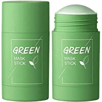 Green Tea Mask Stick for Face Purifying Clay Stick Mask For Deep Cleaning, Blackhead Remove for Men and Women Anti-Acne…