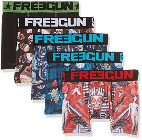 Freegun Packx5, Boxer Bambino, Mehrfarbig (Multicolor A2), 10 anni (pacco da 5 )