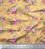 Soimoi Reine Seide Blumen & Paisley Printed Schneiderei