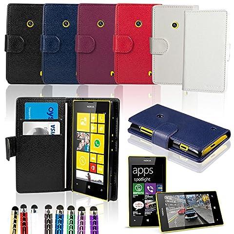 Housse Protection Nokia Rouge - Etui Nokia Lumia 520 - SAVFY® -
