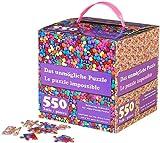 infactory Geduldspiel: Das unmögliche Puzzle: Beidseitig bedruckt, für echte Profis (Jigsaw-Puzzle)