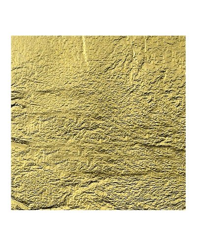Knorr Prandell 2411074 - Flimsy Metal Blattmetall 14x 14 cm, 25 Blatt im Beutel, goldfarben