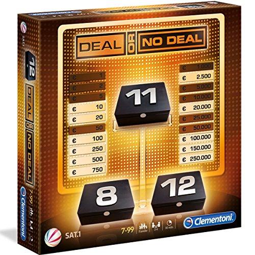 Deal or no Deal, 80 Karten für 2-12 Spieler, Familienspiel: Sat1, ab 7 (Or Deal Deal No)