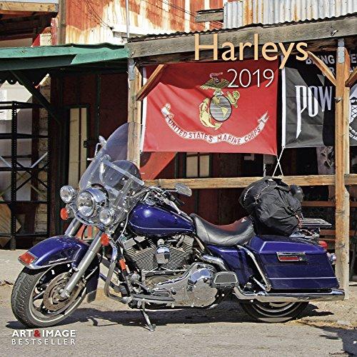 Harleys 2019 - Motorradkalender, Wandkalender, Broschürenkalender  -  30 x 30 cm