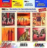 Hobby Line 49772 - Serviettenmischpackung Afrikanische Impressionen 6 Motive 2