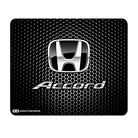 Honda Accord Black Logo Punch Grille Computer Mouse Pad