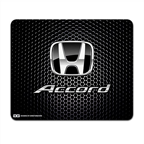 honda-accord-schwarz-logo-punch-gitter-computer-maus-pad