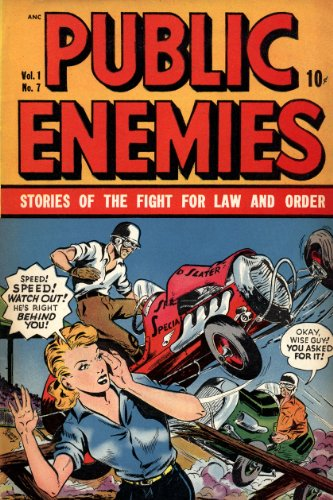 Public Enemies Volume 7 Comic Book: Illustrated (English Edition)