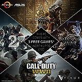 Vibox-ASUS-Ryzen Reloaded - 3x Giochi download code voucher Promozione (deve essere acquistato insieme A un Vibox Ryzen PC)