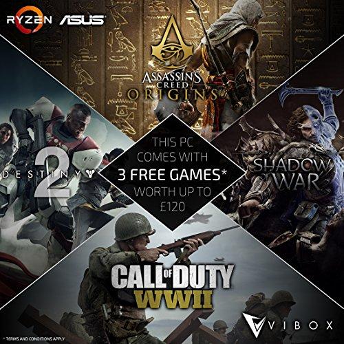 Vibox-Asus-Ryzen Reloaded - 3x Spiel Download Code Gutschein Promotion (MUSS NEBEN EINEM VIBOX RYZEN PC GEKAUFT WERDEN) (Pc-spiele Ww2)