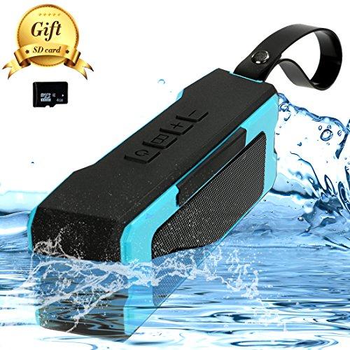 Yaufey® Altavoz Bluetooth Inalámbrico, la calidad de sonido superior con un potente subgrave,IPX6 Impermeable Estéreo Altavoces Inalámbrico,12 horas reproducción continua