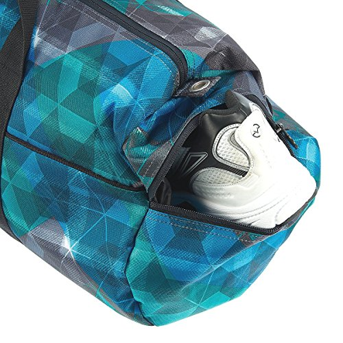Chiemsee  Sporttasche GYMBAG (REVISED DUFFLE M) MEDIUM Check Black