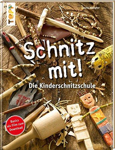 Schnitz mit. Die Kinderschnitzschule - Holz-schnitz-taschenmesser
