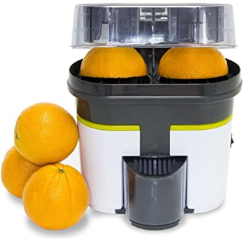 Turbo juicer, cecojuicer Zitrus Dual Head – also cuts fruit