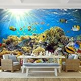 Fototapete Korallenriff 352 x 250 cm - Vliestapete - Wandtapete - Vlies Phototapete - Wand - Wandbilder XXL - !!! 100% MADE IN GERMANY !!! Runa Tapete 9073011a