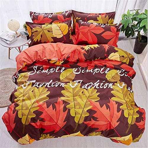 SHJIA Bedlinens Bettwäsche aus ägyptischer Baumwolle Set Königin King Size Bettbezug Set A 150x200cm