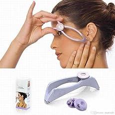 Luvina Clip Cross Spiral Linear Hair Removal Epilator /Tweezer For Women