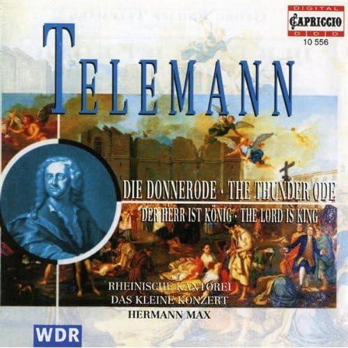 Telemann: Der Herr Ist Konig / Die Donnerode