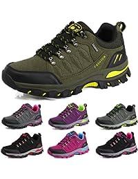 hot sale online 14bc4 f3cd7 BOLOG Chaussures de Randonnée Outdoor Hommes Trekking Promenades Sports  Sneakers Femme Antichoc Antidérapant Chaussures
