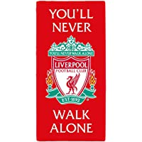Liverpool FC YNWA Towel 100% Cotton 140 x 70 cm