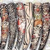 gaddrt 6 Stücke Unisex Temporäre Gefälschte Slip On Tattoo Arm Sleeves Kit Neue Mode Sonnencreme