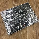 icase4u® Kit de 52 Piezas Multifuncional Prensatelas