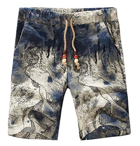 Herren Shorts Sonnenblume Beach Swim Board Shorts Mehrfarbig