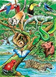 Life In The Rainforest 35 Piece Sequenced Jigsaw Puzzle For Dementia And Alzheimers