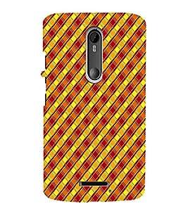 EPICCASE cross checks Mobile Back Case Cover For Moto X 3rd Gen (Designer Case)
