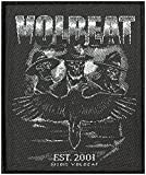 VOLBEAT Aufnäher OUTLAW RAVEN Patch 8,5 x 10 cm