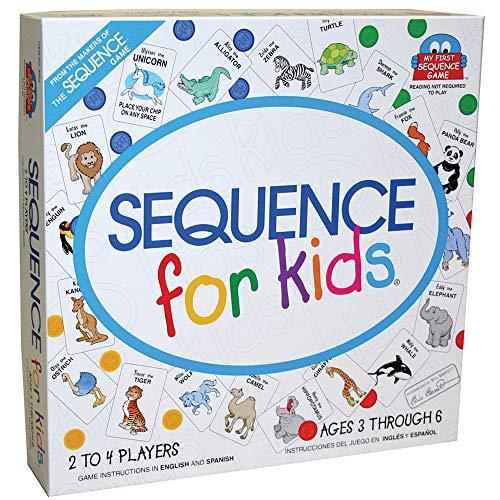 Sequence para niños y niñas - Inglés