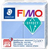 STAEDTLER FIMO Effect 8020-386 Oven Hardening Modelling Clay, 57 g - Agate Blue