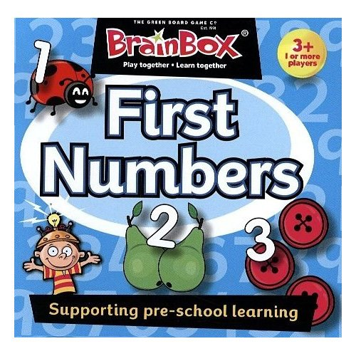 Box cerebro Primera números Puzzle