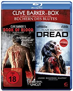 Clive Barker Box UNCUT - 2 Horror-Highlights in einer Box: Book of Blood + Dread (2 Blu-rays)
