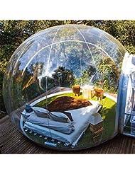 Rsen Tienda de campaña hinchable de burbujas, tienda de campaña familiar para acampada transparente,