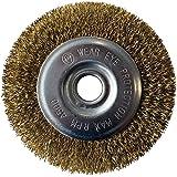 GLORIA Staaldraad-voegenborstel, accessoires voor multibrush- en WeedBrush-apparaten, draadborstel, messingborstel voor voege
