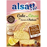 Alsa Préparation pour Mon Super Cake au Citron 275 g - Lot de 4