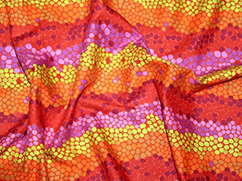 Rowan Brandon Mably (begriffsklärung) Fall 2014Pebble Mosaik Popeline Quilting Stoff, orange, Meterware + Frei Minerva Crafts Craft Guide