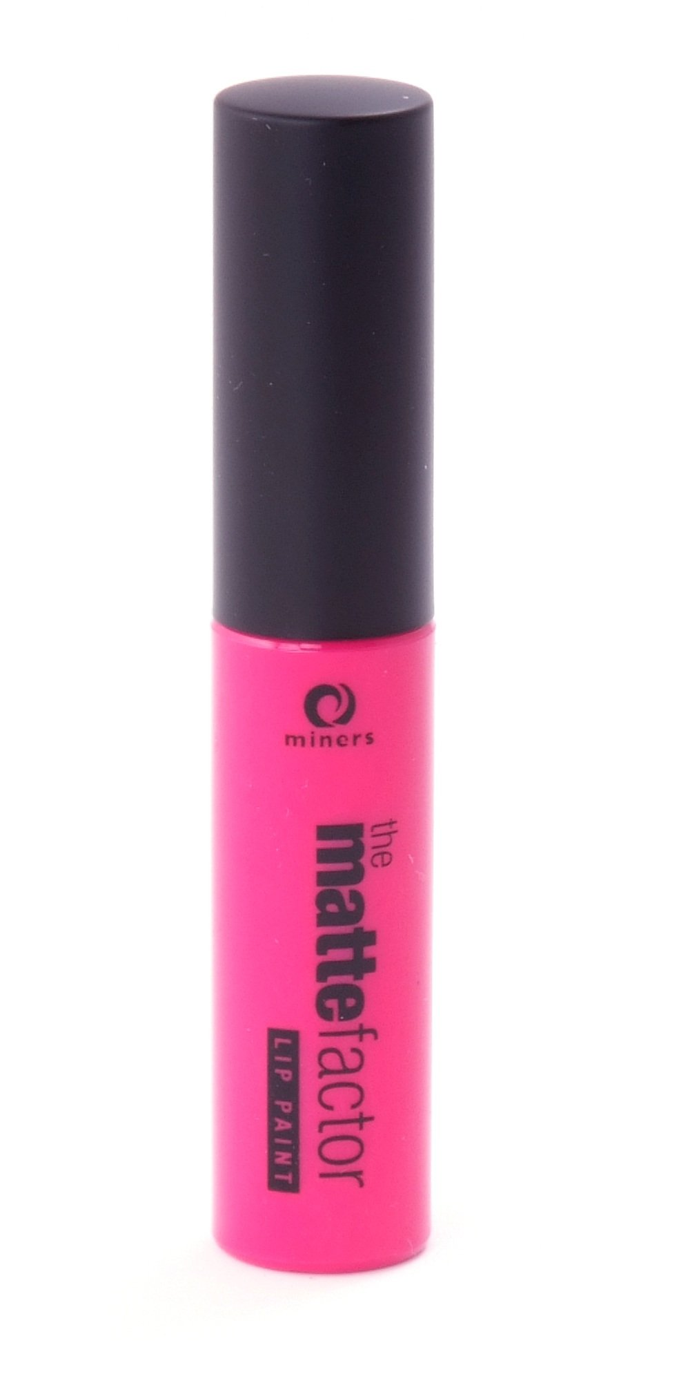 Miners Cosmetics, Rossetto liquido opaco The Matte Factor, Hot Pink