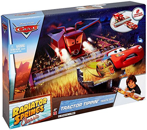 Disney Cars Radiator Springs: Tractor Trippin Track Set FBT11 .