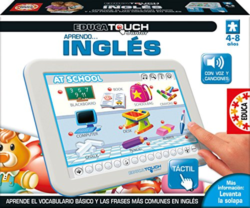 Educa Borrás 15438 - Educa Touch Junior Aprendo Ingles