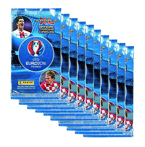 Adrenalyn XL EURO 2016 Trading Cards - 10 Booster