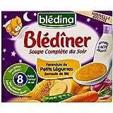 Soupe Blediner Blédina légumes et semoule 2 x 25cl