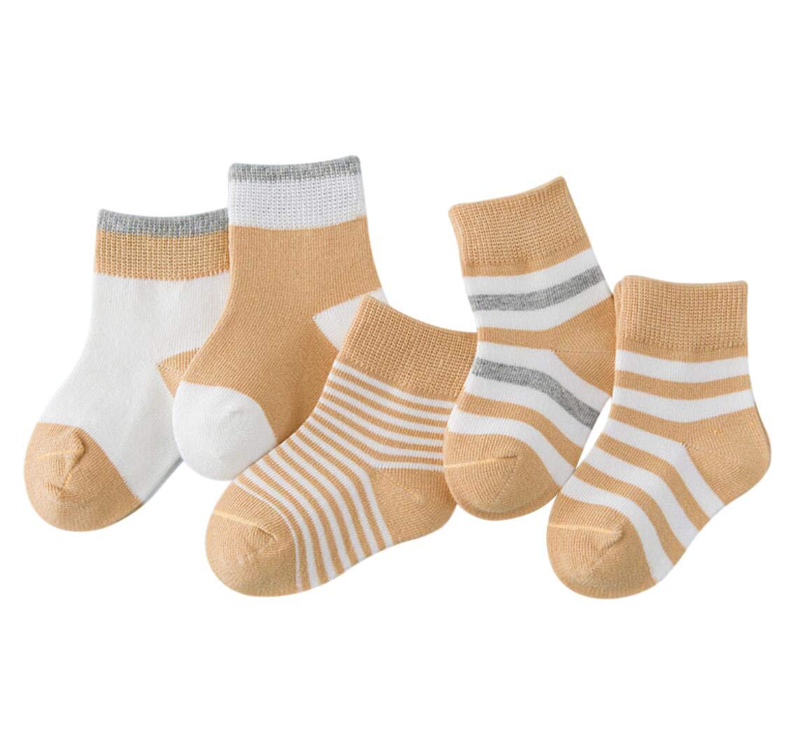DEBAIJIA Niños Niñas Calcetines De Algodón Cómodo Suave Jogging Absorben el Sudor Antibacteriano primavera verano otoño… 1